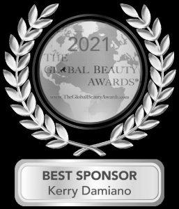 The Global Beauty Awards Best Sponsor Kerry Damiano 2021